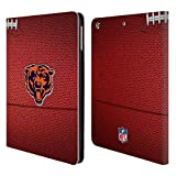 Official NFL Football 2018/19 Chicago Bears Leather Book Wallet Case Cover for iPad Air (2013)