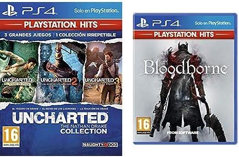 Uncharted Collection Hits - Versión 17 & Bloodborne Hits - Versión 13: Amazon.es: Videojuegos