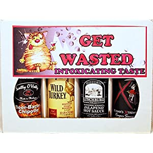 Get Wasted – (4 Pack Gift Set) …