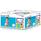 Munchkin Super Premium Diapers, Size 5/X-Large Ultra (27+ Pounds), 78 Count