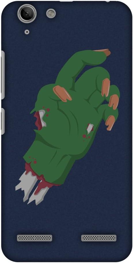 AMZER Slim Handcrafted Designer Printed Hard Shell Case Back Cover for Lenovo Vibe K5/ K5 Plus - The Hand