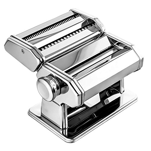 Stainless Steel Pasta Maker Machine by Alloyseed - Homemade