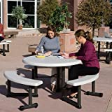 Lifetime 44″ Round Picnic Table For Sale