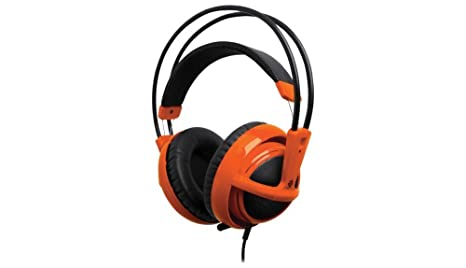 SteelSeries Siberia v2 Full-Size Gaming Headset (Orange) (Certified Refurbished)