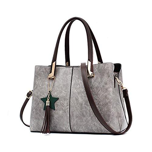 Dames Grey Pu Et Mode été Messenger Sac épaule Sac bag2018 à Sac Femelle Grand Main ZM Nouveau Printemps Sac wqUSnHX