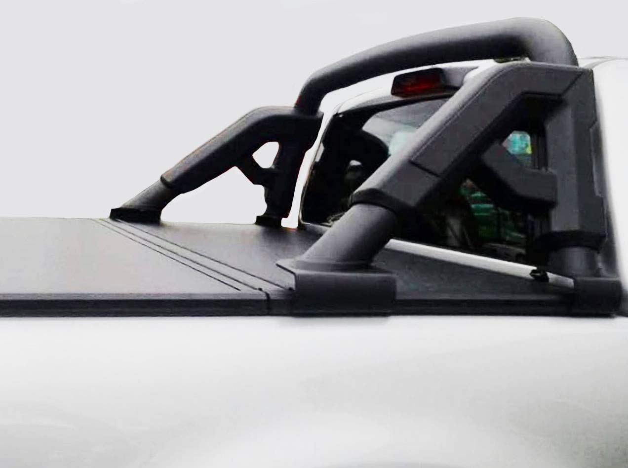 Fenza Roll Bar (Black Coated) with Tonneau Cover Support for 2016-2019 Toyota Hilux by Fenza (Image #1)