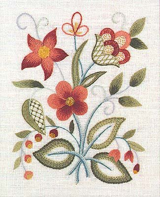 Elsa Williams The Lowell Sampler Crewel Embroidery Kit Amazon