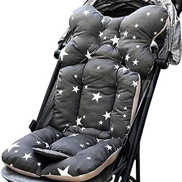 35x78cm ChicSoleil Kinderwagen Sitzauflage Dicke Weiche Sitzkissen Baumwolle Matten Kissen Sitzeinlage Sitz Pad f/ür Kinderwagen Babywagen Buggy