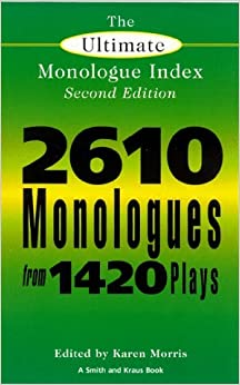 Book The Ultimate Monologue Index: The Smith and Kraus Monologue Index,2nd (Second) edition:2nd (Second) edition