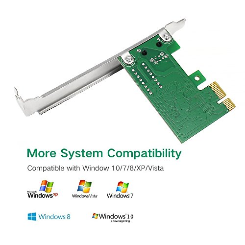 YEECHUN New Replacement Gigabit Ethernet PCI-Express Network Adapter for TP-Link 10/100/1000Mbps RJ45 Lan Adapter Converter (TG-3468) by YEECHUN (Image #2)