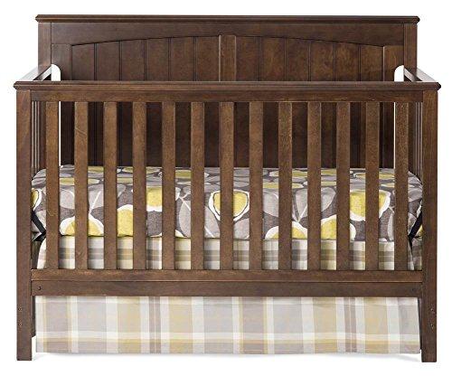 Child Craft Sheldon 4-in-1 Convertible Crib, Slate
