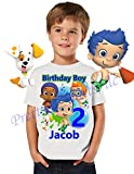 Bubble Guppies Birthday Shirt, ADD any name and age, Bubble Guppies Birthday Party, FAMILY Matching Shirts, Birthday Boy Shirts, Guppies Birthday Shirt, Bubble Guppies Boy Shirt, VISIT OUR SHOP!! t,