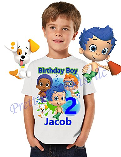 Bubble Guppies Birthday Shirt ADD Any Name And Age Party FAMILY Matching Shirts Boy