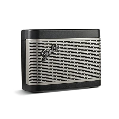 Fender Newport Battery Powered Portable Bluetooth Speaker - Black