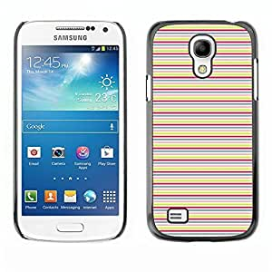 Tony Diy WonderWall Wallpaper Fancy Picture Image case cover protective Black Edge for Smartphone Samsung Galaxy S4 Mini i9190 i9195 - - Horizontal Lines lEq12OtkY16