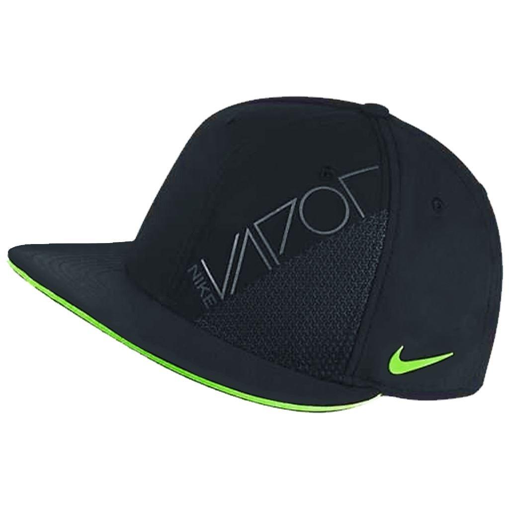 dfac48590d3 2015 Nike Vapor True Adjustable Mens Golf Cap-New VAPOR RZN Logo Black