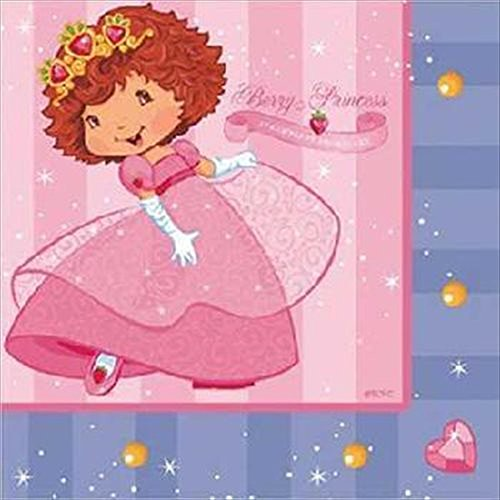 Strawberry Shortcake Lunch Napkins (Strawberry Shortcake 'Berry Princess' Lunch Napkins (16ct))