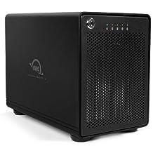 OWC 8.0TB ThunderBay 4 , four external drive HDD with dual Thunderbolt 2 ports, RAID-ready JBOD Solution , Model OWCTB2IVT08.0S