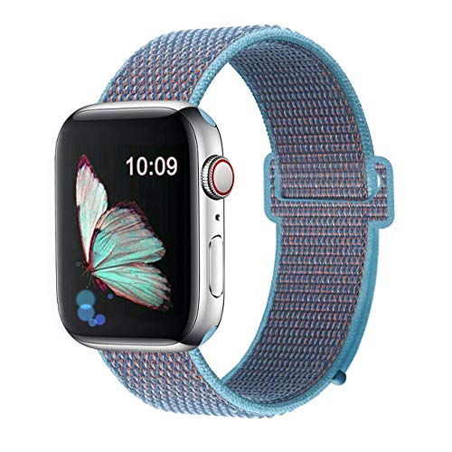 Sports Watch Strap - Booyi Sport Band Compatible with Apple Watch 38mm 40mm 42mm 44mm,Strap Replacement for Series 4 3 2 1