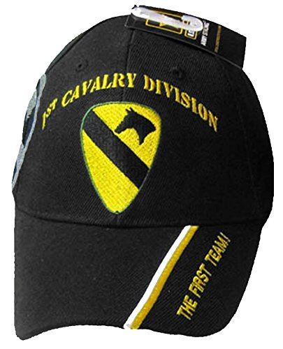 Buy Caps and Hats U.S. Army Division and Brigade Baseball Caps Quality Embroidered Hats (1st Cavalry Division The First (Division Military Hat)