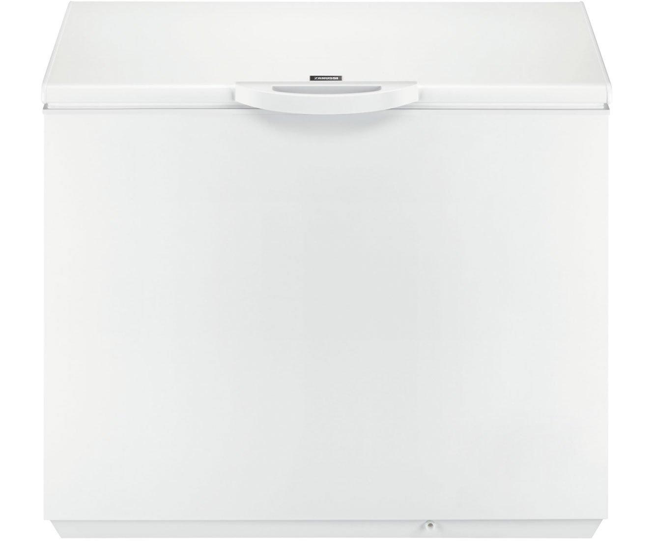 zanussi zfc31500wa 105cm wide 300 litre chest freezer white amazon rh amazon co uk