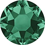 2000, 2038 & 2078 Swarovski Flatback Crystals Hotfix Emerald | SS20 (4.7mm) - Pack of 1440 (Wholesale) | Small & Wholesale Packs | Free Delivery