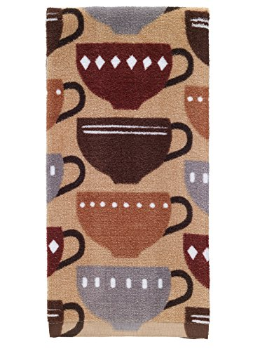 Kitchen Textiles (T-Fal Textiles 100% Cotton Fiber Reactive Printed Kitchen Dish Towel, 19