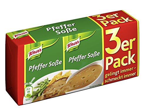 (Knorr Pepper Sauce 3-Pack)