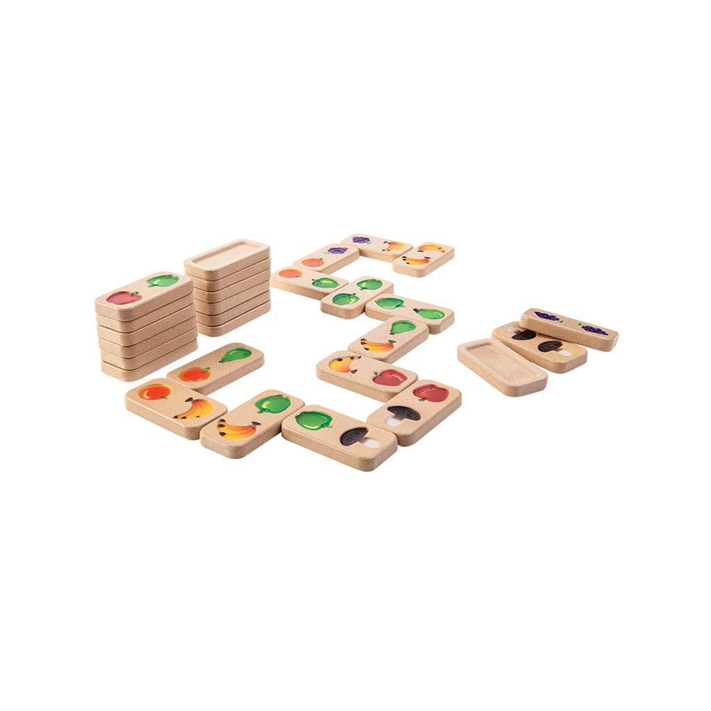 HXGL-Domino Domino Giocattoli in Legno Educativi per Bambini Apprendimento precoce Organi Multi-colore per Adulti Regali cognitivi per Bambini (Dimensioni   M)