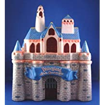 Disney's 40th Anniversary SLEEPING BEAUTY'S CASTLE Cookie Jar Disneyland's LIMITED Edition