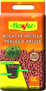 Flower 90205 - Bolas de Arcilla expandida, 28 x 7 x 35 cm, Color