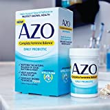 AZO Complete Feminine Balance Womens Daily Probiotic | Clinically Proven to Help Protect Vaginal Health | Clinically Shown to Work in 7 days* | 30 count
