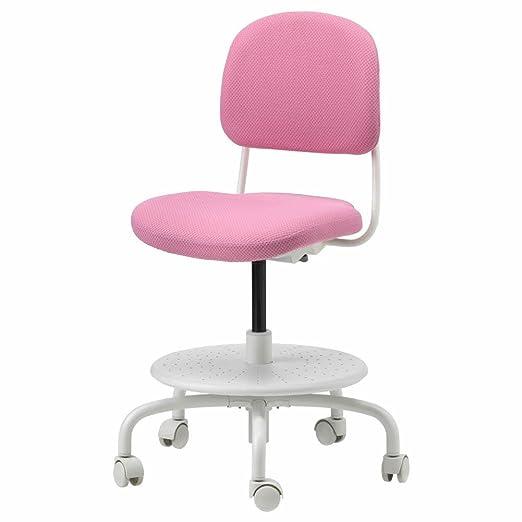 IKEA ASIA VIMUND - Silla de Escritorio Infantil, Color Rosa ...