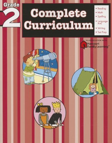 Complete Curriculum: Grade 2 (Flash Kids Harcourt Family