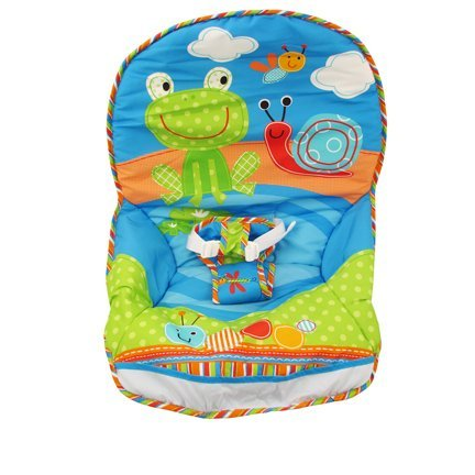 Fisher-Price Infant to Toddler Rocker - Frog/Snail Print - Replacement Pad by Fisher-Price