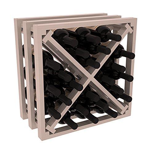 Amazoncom Wine Racks America Ponderosa Pine Lattice Stacking X