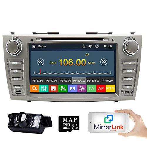 8 inch in Dash for Toyota Camry 2007 2008 2009 2010 2011 CAR DVD Player GPS Navigation Navi iPod Bluetooth HD Touchscreen Radio RDS FM+Free US GPS Map Card Rear Camera Included