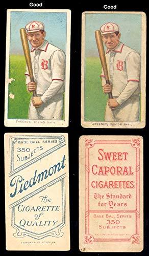 1909 t206 tobacco (baseball) card#463 bill sweeney of the Boston rustlers Grade Good