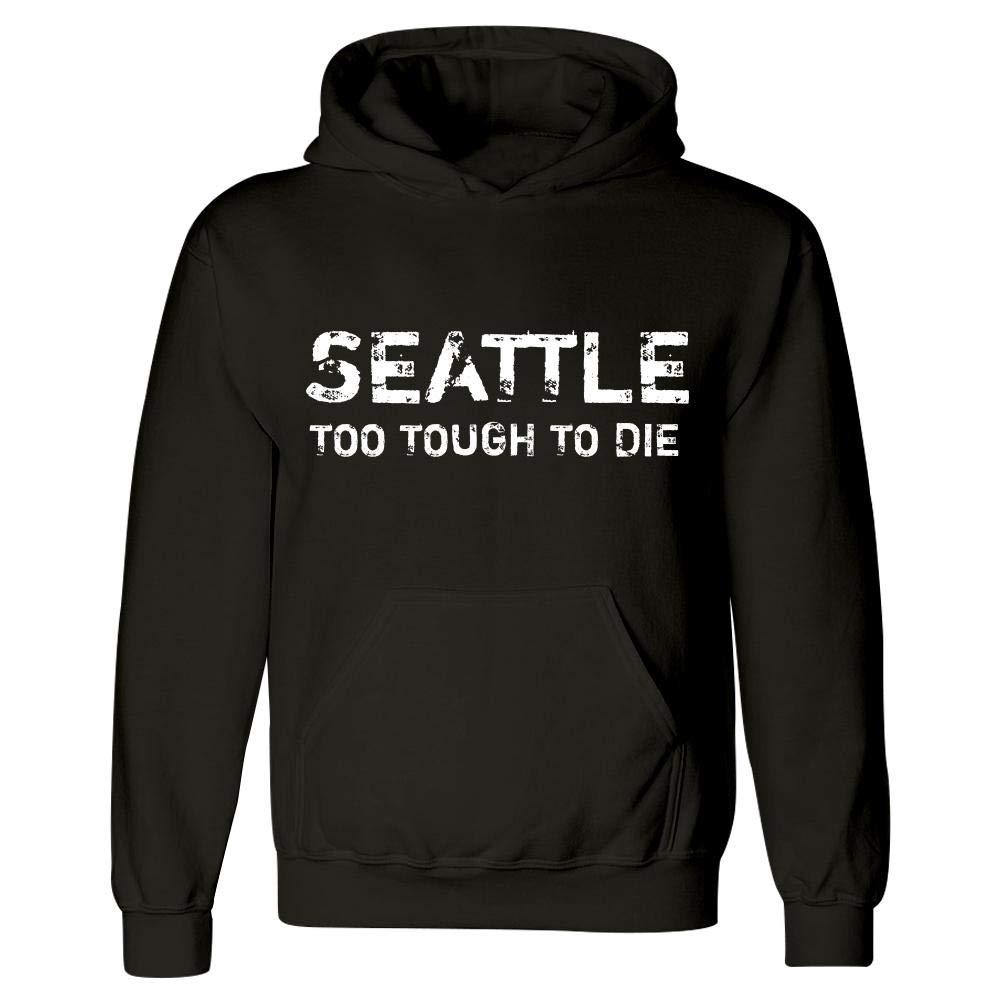 MESS Seattle Too Tough to Die Hoodie Black
