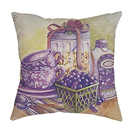 Amazon.com: DAVITU US Warehouse - Cushion Cover Vintage ...
