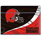 Skinit NFL Cleveland Browns Galaxy Book Keyboard Folio 10.6in Skin - Cleveland Browns Design - Ultra Thin, Lightweight Vinyl Decal Protection