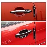 Freebily 4 Pcs Unique and Stylish Car Auto Door Edge Guard Protective Trim Self Adhesive