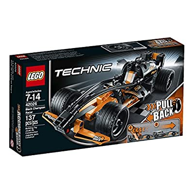 LEGO Technic 42026 Black Champion Racer Model Kit: Toys & Games