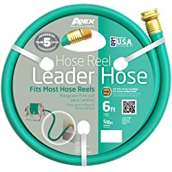 Apex, 887-6, Hose Reel Leader Hose, 5/8-Inch x 6-Feet
