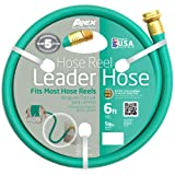 3 ft garden hose - Apex 887-6, Hose Reel Leader Hose, 5/8-Inch x 6-Feet