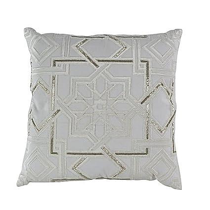 Amazon Callisto Home Moroccan Beaded 40Inch Square Throw Simple Callisto Home Decorative Pillows