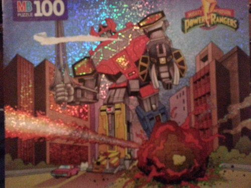 Mighty Morphin Power Rangers 100 Piece Puzzle