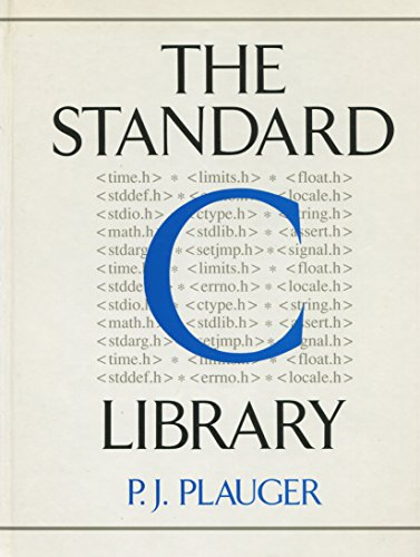 The Standard C Library by Prentice Hall