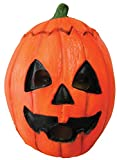 UHC Adult Scary Halloween III Pumpkin Horror Movie Theme Party Latex Mask
