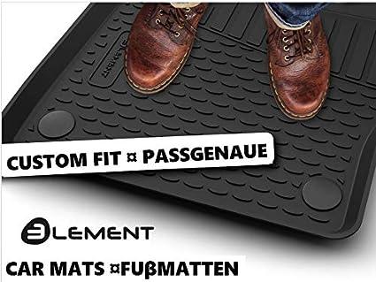"""/â/€/"""" A/ño: 10 /â/€/"""" 20 Element EXP.NLC.05.30.210kh Alfombrillas de Goma Antideslizantes BMW X3, Negro F25"""